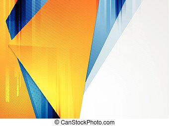 Bright colorful tech vector background