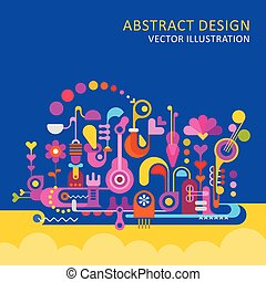 Abstract Design vector illustration