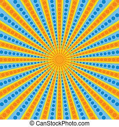 Bright congratulatory background
