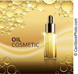 Bright Cosmetic Oil Ads Template