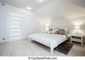 Bright delicate bedroom