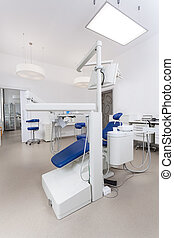 Bright dental office