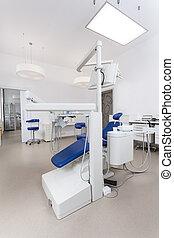 Bright dental office