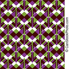 Bright endless vector layers texture, motif abstract contemporary geometric multilayered background with arrowheads. Creative symmetric continuous pattern, can be used for design and textile.