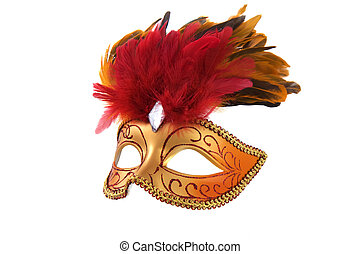 Bright fancy mask