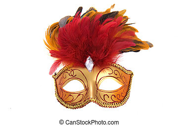 Bright fancy mask