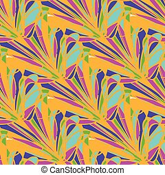 bright geometric seamless pattern grunge effect