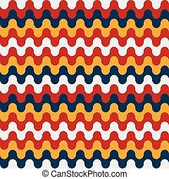 bright geometric seamless pattern grunge effect