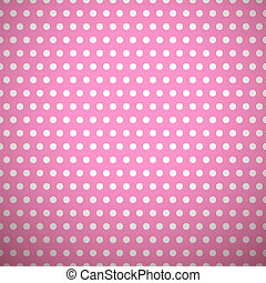 Bright girl vector seamless patterns (tiling)