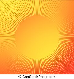 Bright glossy background with sparkle shape. Radial lines, starburst, sunburst circular lines