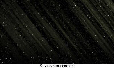 Bright glow of stars in the Universe on a black background HD