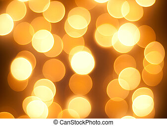 Bright glowing yellow lights background - Bright glowing red...