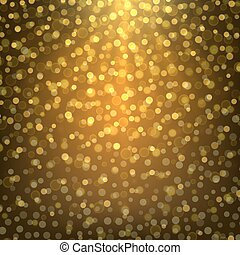 bright gold abstract background bokeh