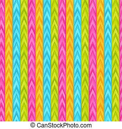 Bright Gradient Striped Seamless Pattern of Blue, Light, Green, Pink, Yellow Geometric Elements.