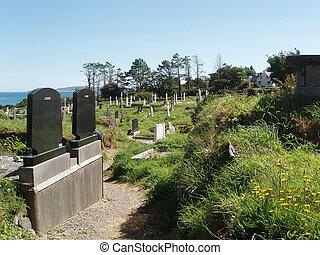 Bright Graveyard - A happy bright graveyard.