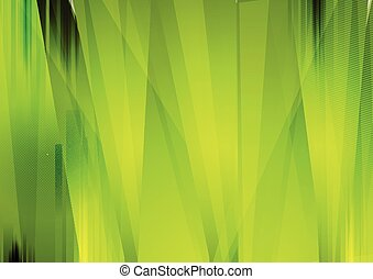 Bright green abstract grunge stripes background