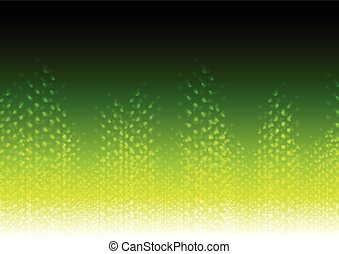 Bright green abstract shiny background