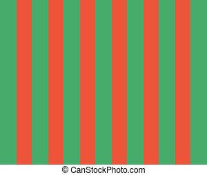 bright green stripes on red background. vertical pattern in geometric style with gradient.