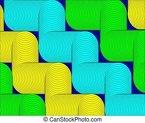 bright green yellow shapes abstract geometric modern background
