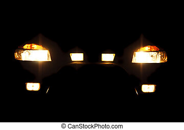 bright headlights