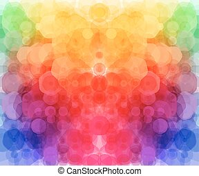 Bright hexagonal pattern for Your design. Vector illustration.