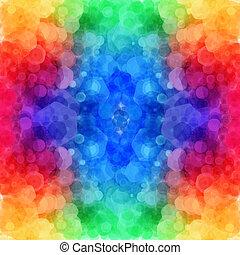 Bright hexagonal pattern for Your design. Vector illustration.