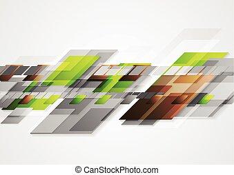 Bright hi-tech vector abstract design
