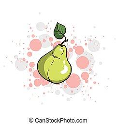 Bright Juicy Pear