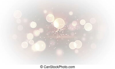 bright light circles loopable abstract background