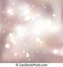 Bright light pink background. Festive design.