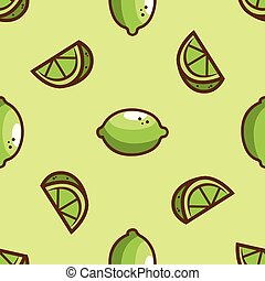 Bright lime green seamless pattern. Vector illustration.