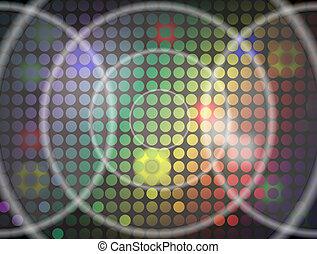 Bright Lites 6 Concentric Circles