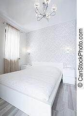 Bright luxury bedroom