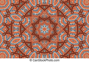 Bright mandala star