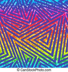 Bright maze seamless pattern.