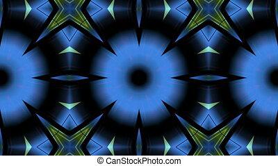 multicolored geometric shapes