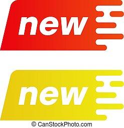 Bright New label.