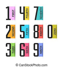 Bright numbers set