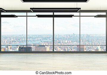 Bright office interior