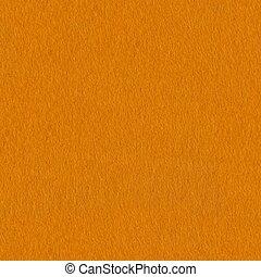Bright orange felt background close-up. Seamless square texture, tile ready.