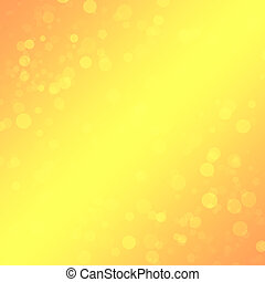 Bright orange-yellow background for design