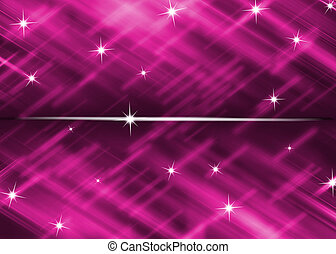 bright pink background with star glitter abstract