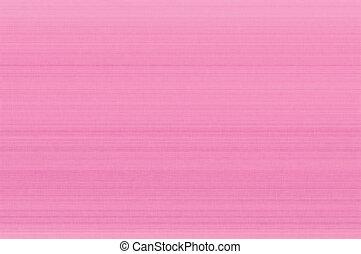 Bright pink pastel fiber linen texture swatch background, detailed horizontal macro closeup, rustic vintage textured fabric burlap canvas pattern copy space