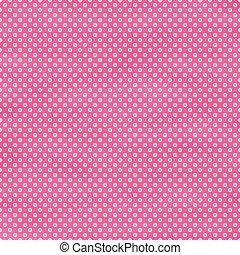 Bright Pink Polka Dot