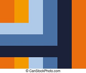 abstract background color lines orange blue yellow