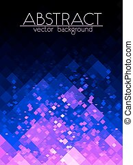 Bright purple grid abstract vertical background