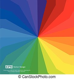 Bright Rainbow Shades Background