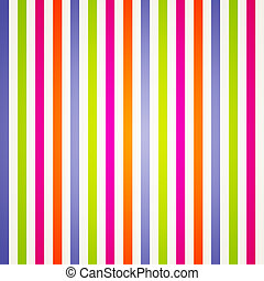 Bright Rainbow Stripes
