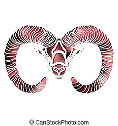 Bright Ram, zodiac Aries sign