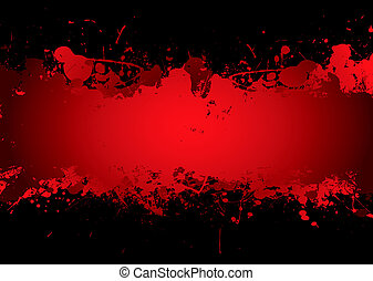 blood stream - Bright red blood stream with abstract ...